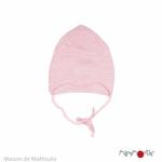 bonnet-bebe-evolutif-pure-laine-merinos-manymonths-maison-de-mamoulia-stork-pink-rose