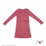 robe-tunique-motherhood-mam-pure-laine-merinos-babyidea-maison-de-mamoulia-earth-red-rose