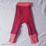 longies-pantalon-bebe-ajustable-evolutif-laine-merinos-manymonths-corail-cranberry-rouge-maison-de-mamoulia-reversible-
