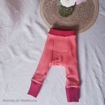 longies-pantalon-ajustable-evolutif-laine-merinos-manymonths-cranberry-rouge-maison-de-mamoulia-reversible-corail