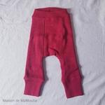 longies-pantalon-enfant-ajustable-evolutif-laine-merinos-manymonths-cranberry-rouge-maison-de-mamoulia-reversible-corail
