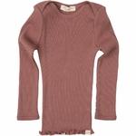 181-10 - Belfast - Antique Red - tshirt-bebe-soie-rose-maison-de-mamoulia