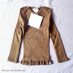 181-10 - Belfast - Seaweed - tshirt-bebe-soie-coton-maison-de-mamoulia-algue-