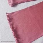 181-4 - Bergen 2-6Y - Antique Red -tshirt-soie-coton-enfant-rose -maison-de-mamoulia