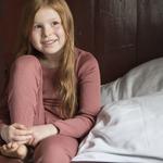 181-4 - Bergen 2-6Y -Antique Red -  -tshirt-enfant-rose -maison-de-mamoulia