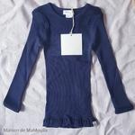 181-37 - Bergen 6-14Y-Dark Blue - -tshirt-soie-enfant-rose -maison-de-mamoulia