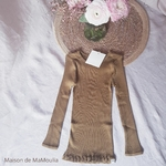 181-4 - Bergen 2-6Y - Seaweed - tshirt-soie-coton-enfant-maison-de-mamoulia