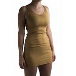 181-12 - Gry - Golden Leaf - - robe-sans-manches-femme-soie-coton-maison-de-mamoulia