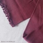 181-12 - Gry - Mahogany -robe-femme-soie-coton-maison-de- mamoulia