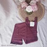 181-12 - Gry - Mahogany -robe-femme-soie-coton-maison-de-mamoulia