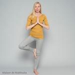 234 - Gym - Golden Leaf - tshirt-femme-soie-coton-maison-de-mamoulia
