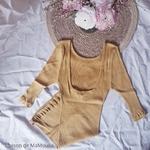 234 - Gym -Golden Leaf- tshirt-top-femme-soie-coton-maison-de-mamoulia