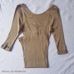234 - Gym - Seaweed- tshirt-femme-soie-coton-maison-de-mamoulia-algue
