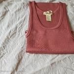 181-12 - Gry - Antique Red- robe-sans-manches-femme-soie-coton-maison-de-mamoulia-rose