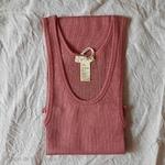 181-12 - Gry - Antique Red - - robe-sans-manches-femme-soie-coton-maison-de-mamoulia-rose