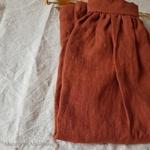 jupe-femme-pure-lin-lave-simplygrey-maison-de-mamoulia-chestnut-noisette-rouille