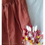jupe-femme-pure-lin-lave-simplygrey-maison-de-mamoulia-chestnut-noisette-rouille-midi