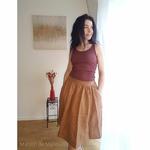 181-12 - Gry - Mahogany -robe-femme-soie-coton-maison-de-mamoulia-debardeur-jupe-lin