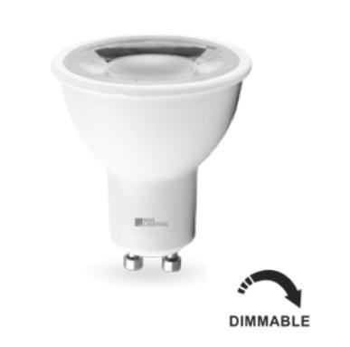 Lampe GU10 LED 8W Dimmable Blanc Neutre 60°