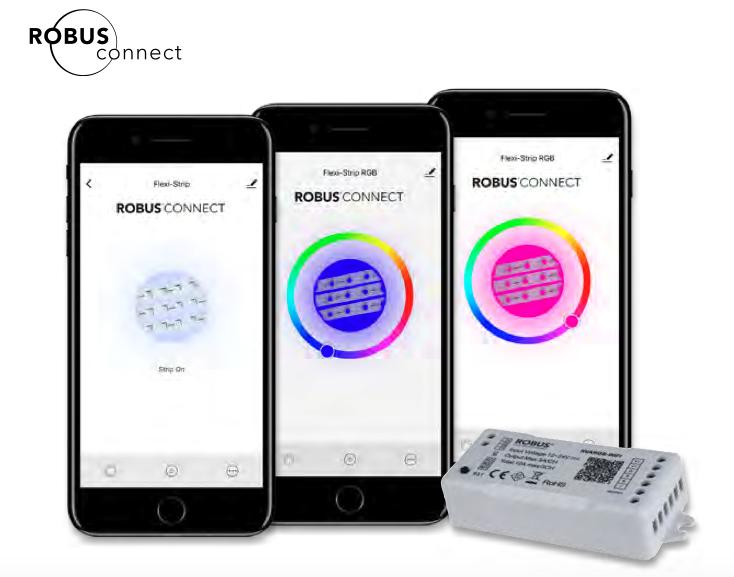 Controleur WIFI pour Ruban LED monochrome 12/24V