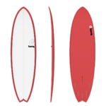 FISH 6'10 RED