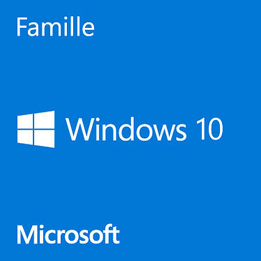 Windows 10 Familiale 64bits oem