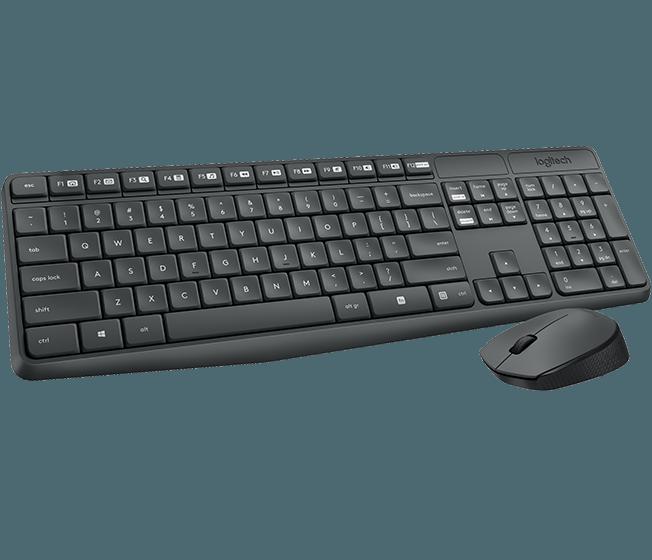 Clavier souris sans fil Logitech MK235