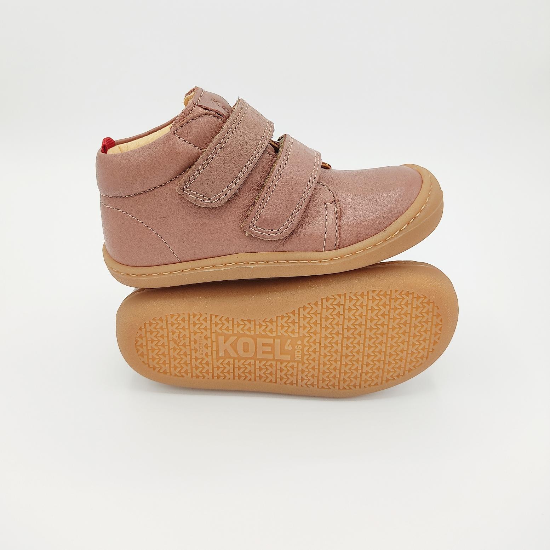 chaussures koel4kids bob bio nappa old pink pour pieds fins sur le boutique liberty pieds