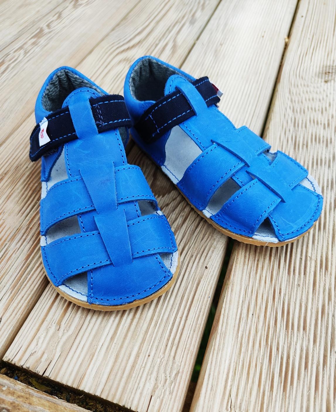 Sandales EF Barefoot - bleu jean
