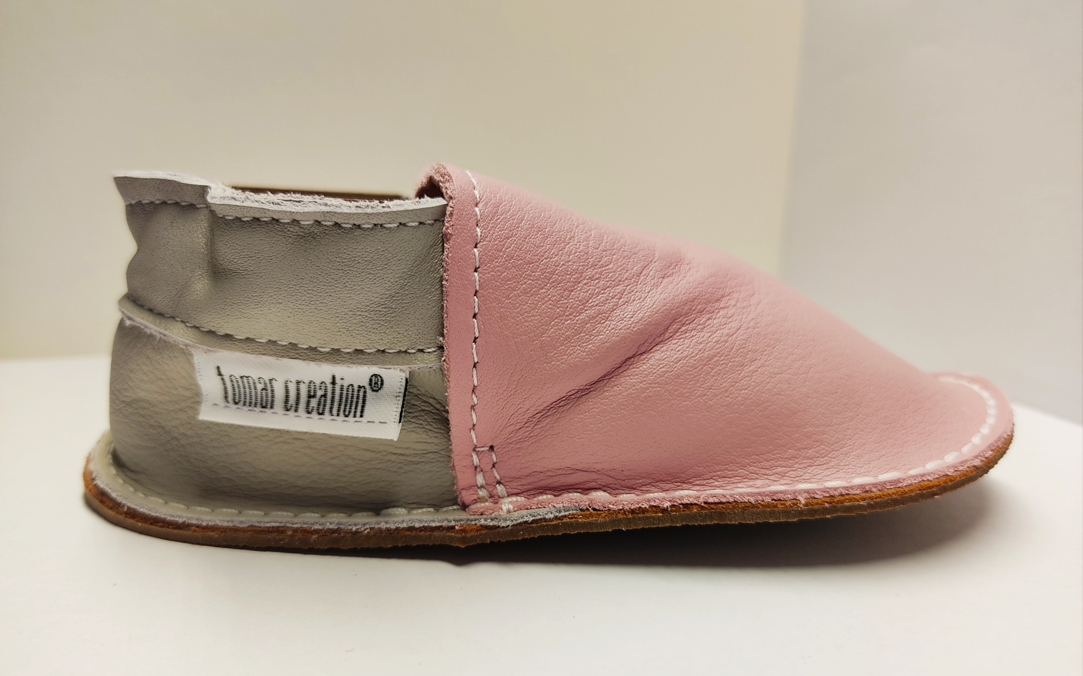 Chaussures P\'tite gomme - rose et gris