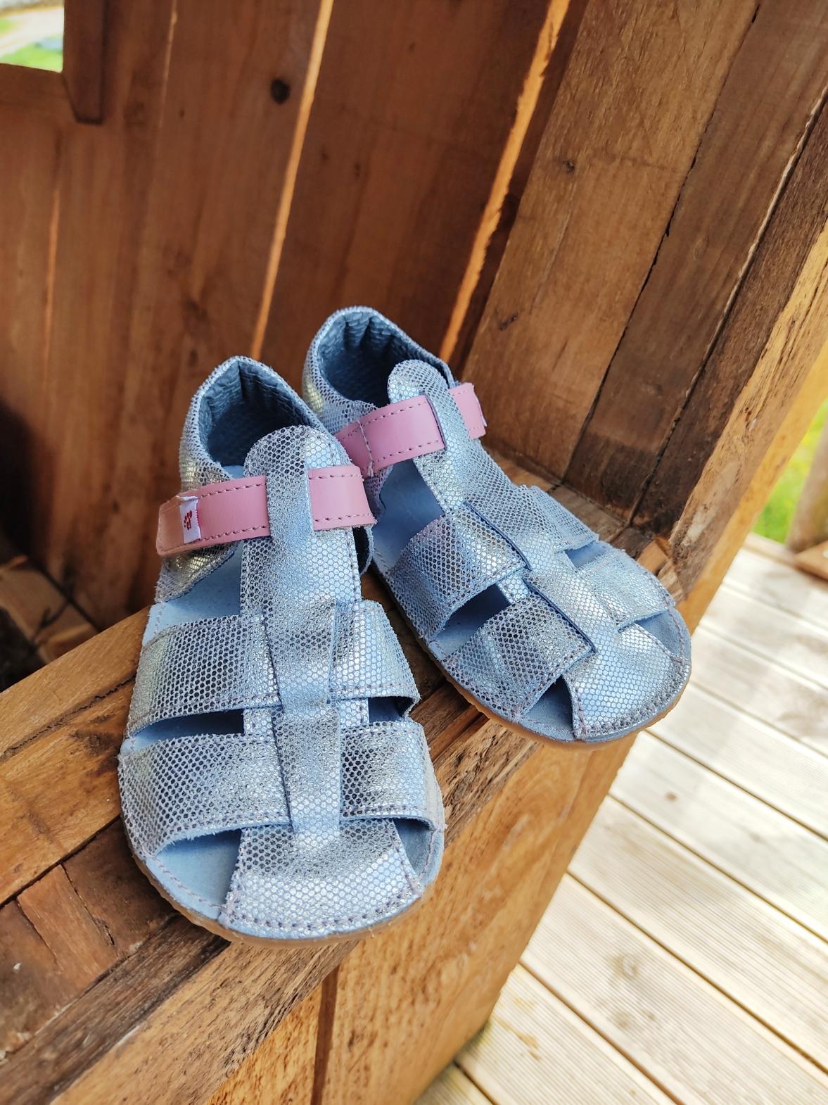 Sandales EF Barefoot - argent