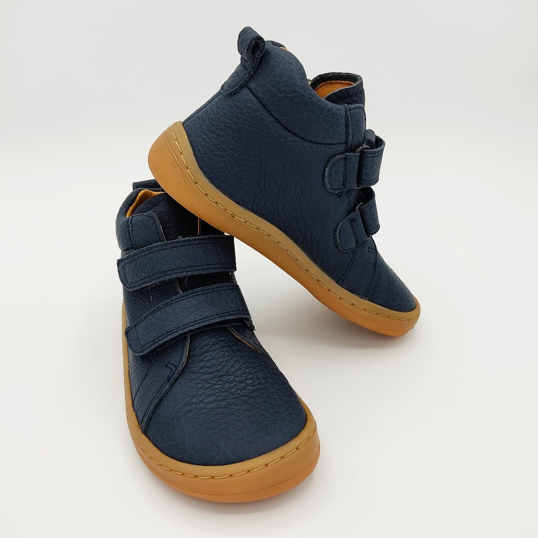 bottine Froddo barefoot high tops couleur bleu foncé sur la boutique Liberty Pieds-9