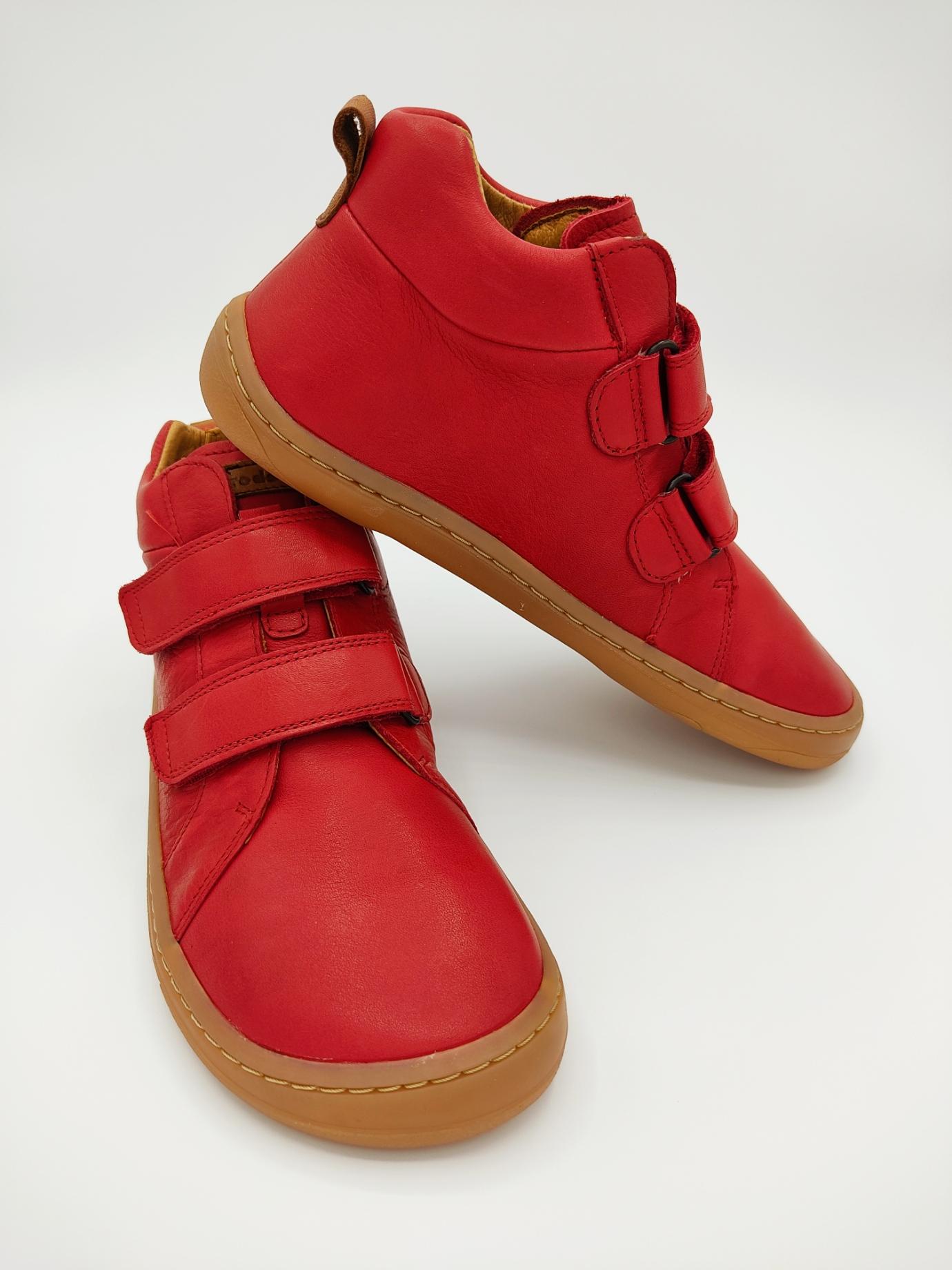 Bottines HIGH TOPS Froddo barefoot - red