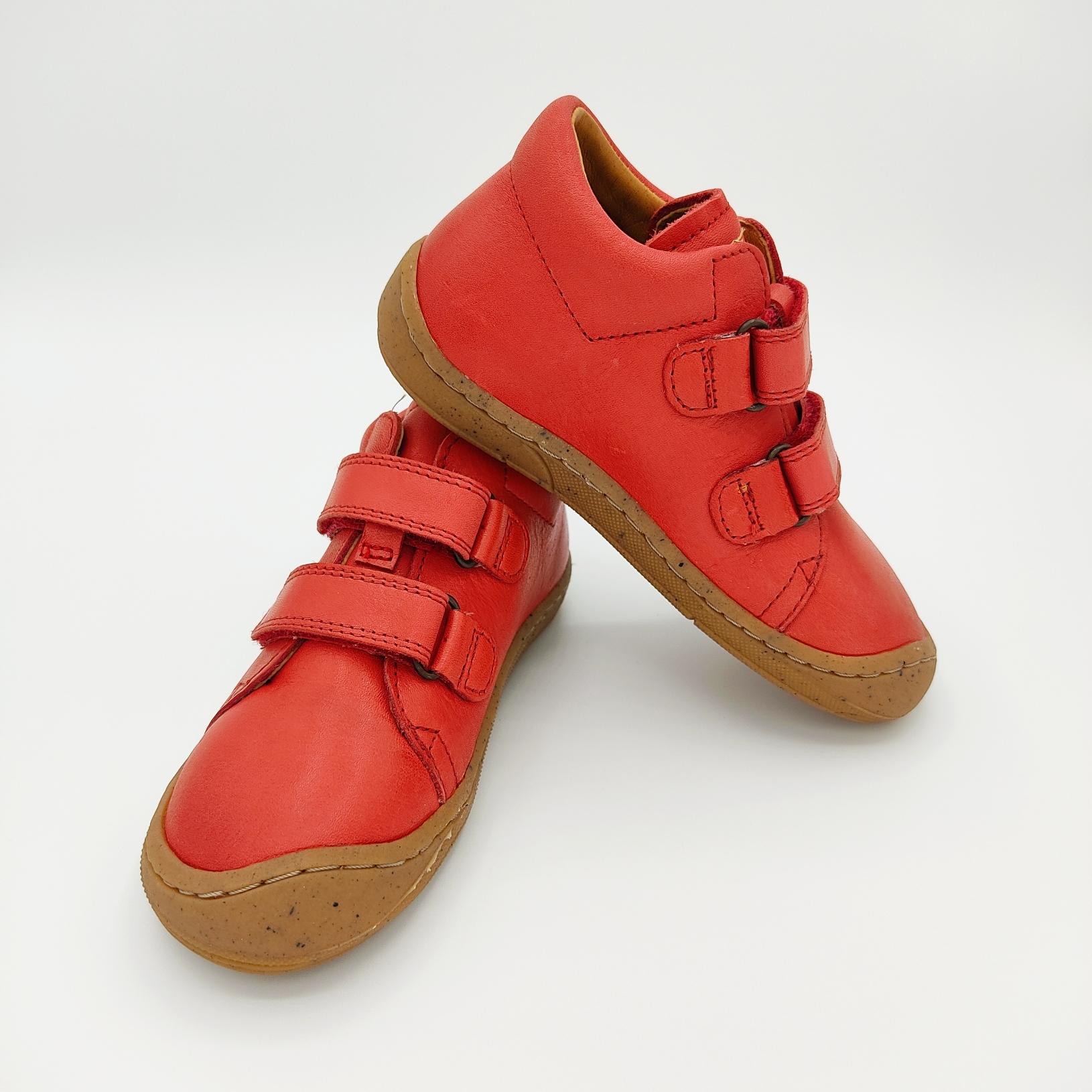Chaussures MINNI VELCRO Froddo Flexible - red