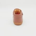 chaussures koel4kids bob bio nappa old pink pour pieds fins sur le boutique liberty pieds-4