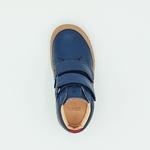 chaussures koel4kids bob bio nappa bleue pour pieds fins sur le boutique liberty pieds-4