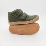 chaussures koel4kids bob bio nappa kaki pour pieds fins sur le boutique liberty pieds