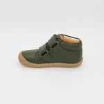 chaussures koel4kids bob bio nappa kaki pour pieds fins sur le boutique liberty pieds-4