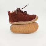 chaussures koel4kids ben bio nubuck chocolat pour pieds fins sur le boutique liberty pieds-1