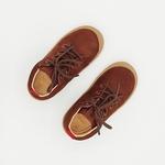 chaussures koel4kids ben bio nubuck chocolat pour pieds fins sur le boutique liberty pieds-2