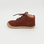 chaussures koel4kids ben bio nubuck chocolat pour pieds fins sur le boutique liberty pieds-6