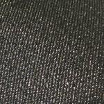 baskets ALL IN noir brillant zoom tissu