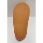 Semelle des sandales ptit scratch de Tomar création grise et fuchsia sur la boutique Liberty Pieds