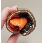 Sandale ptit scratch de Tomar Création marron et orange sur la boutique Liberty Pieds 7