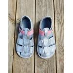 sandales EF barefoot argenté sur la boutique liberty pieds (5)