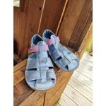 sandales EF barefoot argenté sur la boutique liberty pieds (7)