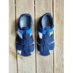 sandales EF barefoot bleu marine sur la boutique liberty pieds (4)