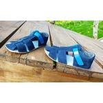 sandales EF barefoot bleu marine sur la boutique liberty pieds (9)