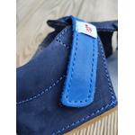 sandales EF barefoot bleu marine sur la boutique liberty pieds (11)