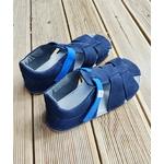 sandales EF barefoot bleu marine sur la boutique liberty pieds (5)